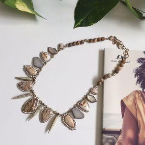 African Plains Statement Collar Necklace